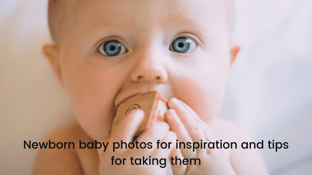Newborn baby photos for inspiration and tips for taking them-featured