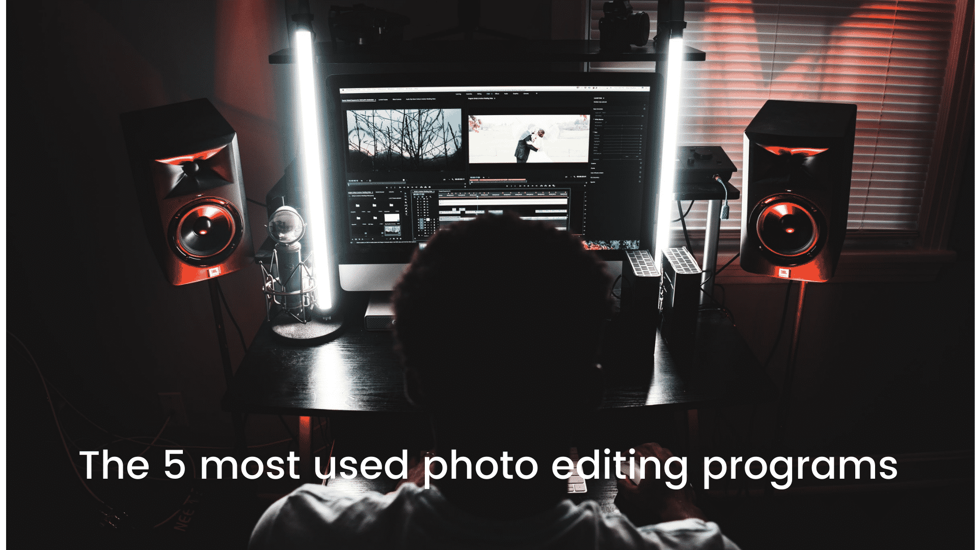 The 5 most used photo editing programs