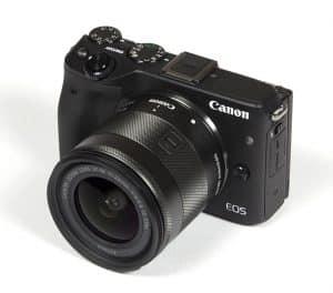 Canon EF-M 11-22mm f4-5.6 IS STM lenses